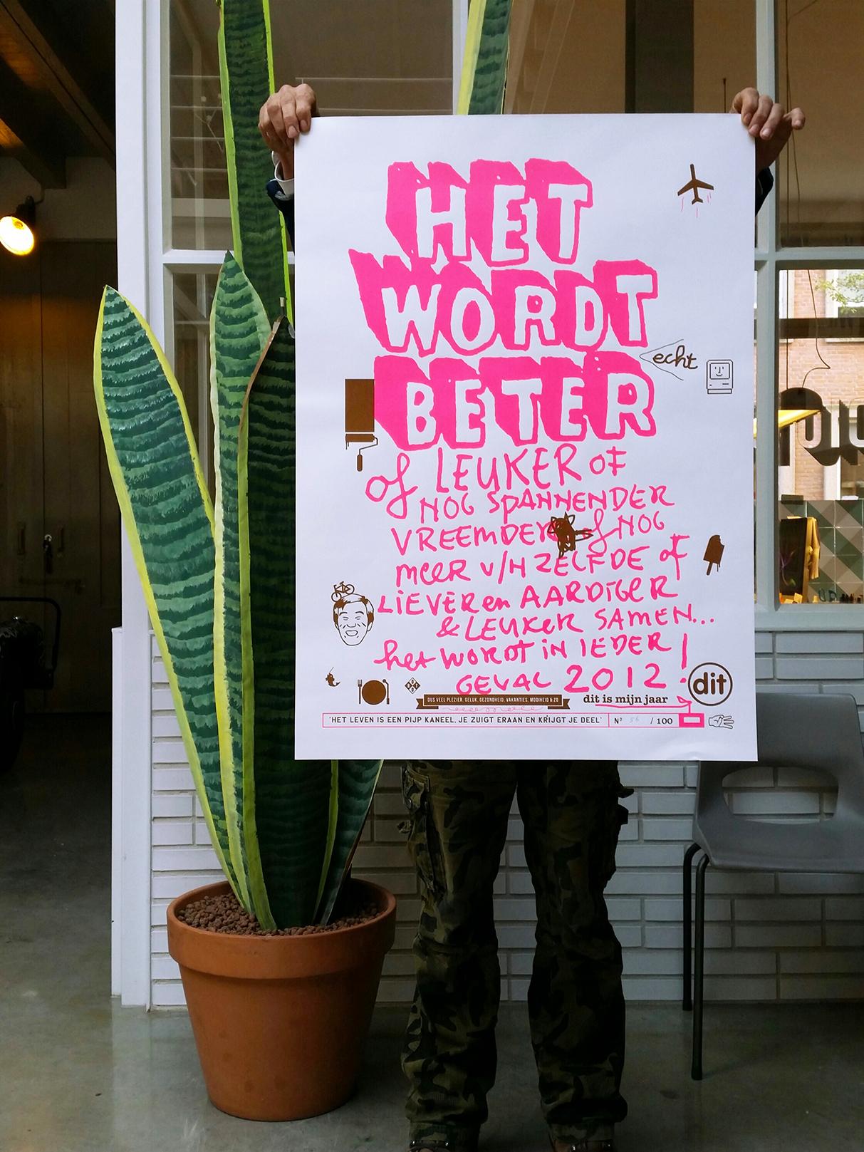 dit-web het wordt betert poster